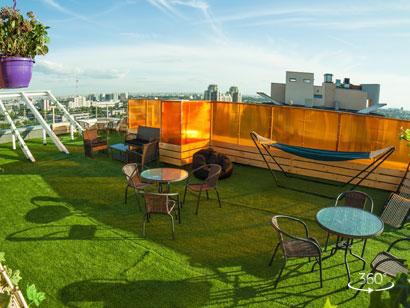 Терраса для вечеринок и отдыха (с VIP апартаментами) посуточно