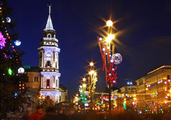 Apartments in St.-Petersburg without intermediaries — a great offer for accommodation on Christmas vacation!