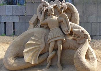 Фестиваль песчаных скульптур 2013 в Санкт-Петербурге