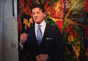 Выставка картин Сильвестра Сталлоне. Санкт-Петербург