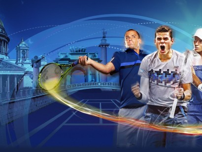 XX international tennis tournament St. Petersburg Open