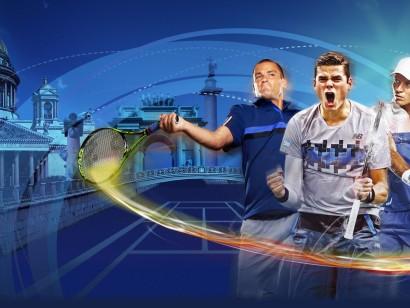 XX international tennis tournament St. Petersburg Open