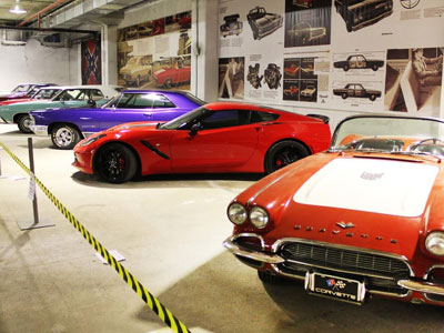 A gift from the outgoing 2015: water Park and Muscle Car Show