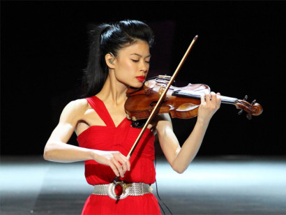 The Vanessa Mae concert in Saint Petersburg on 10 December 2015