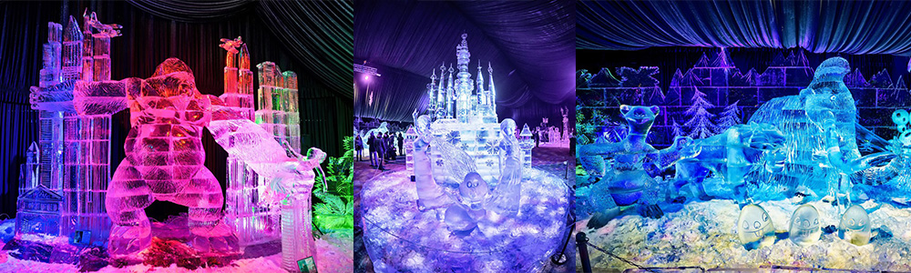 "Фестиваль ледяных скульптур ""Fantasy ICE"""