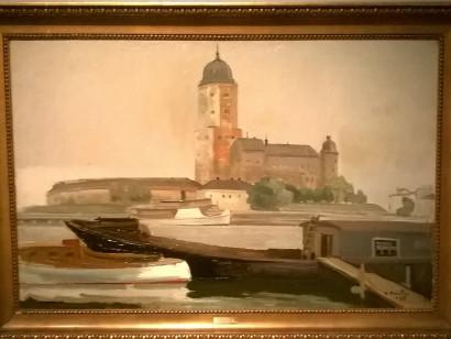 Вяйнё Раутио. Выборгская крепость, 1935 г.
