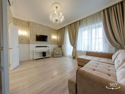 公寓出租在聖彼得堡Moskovsky前景94
