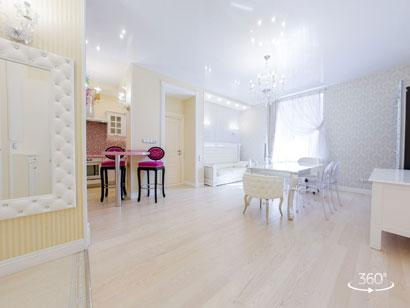 Элитные апартаменты посуточно в Санкт-Петербурге на Парадной 3