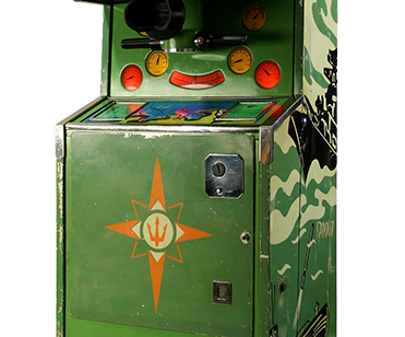 Museum of Soviet arcade machines in Saint Petersburg