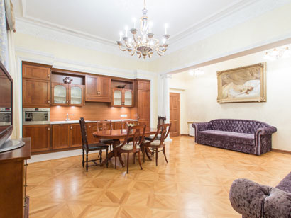 2-bedroom Apartments in loft style for rent in Saint-Petersburg — English Embankment 20