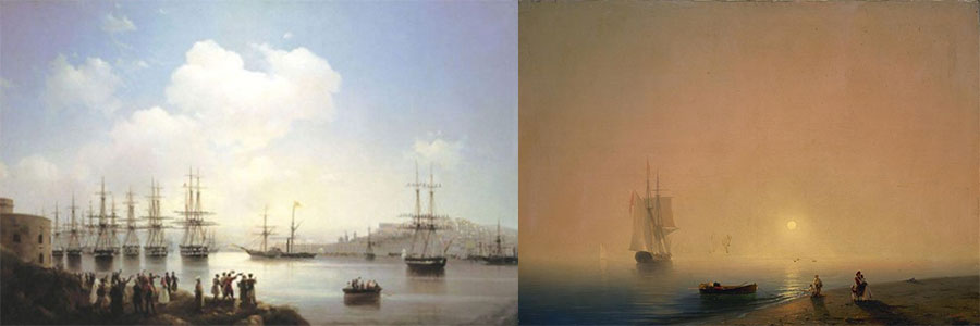 February digest show, povedena the 200-th anniversary of the birth of Ivan Aivazovsky