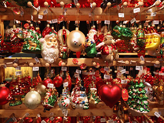 Christmas fair in Saint Petersburg — are there any welcome gift becomes a reality!