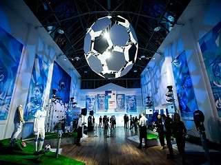 There is something to see and admire a visit to the football exhibition in Saint-Petersburg!