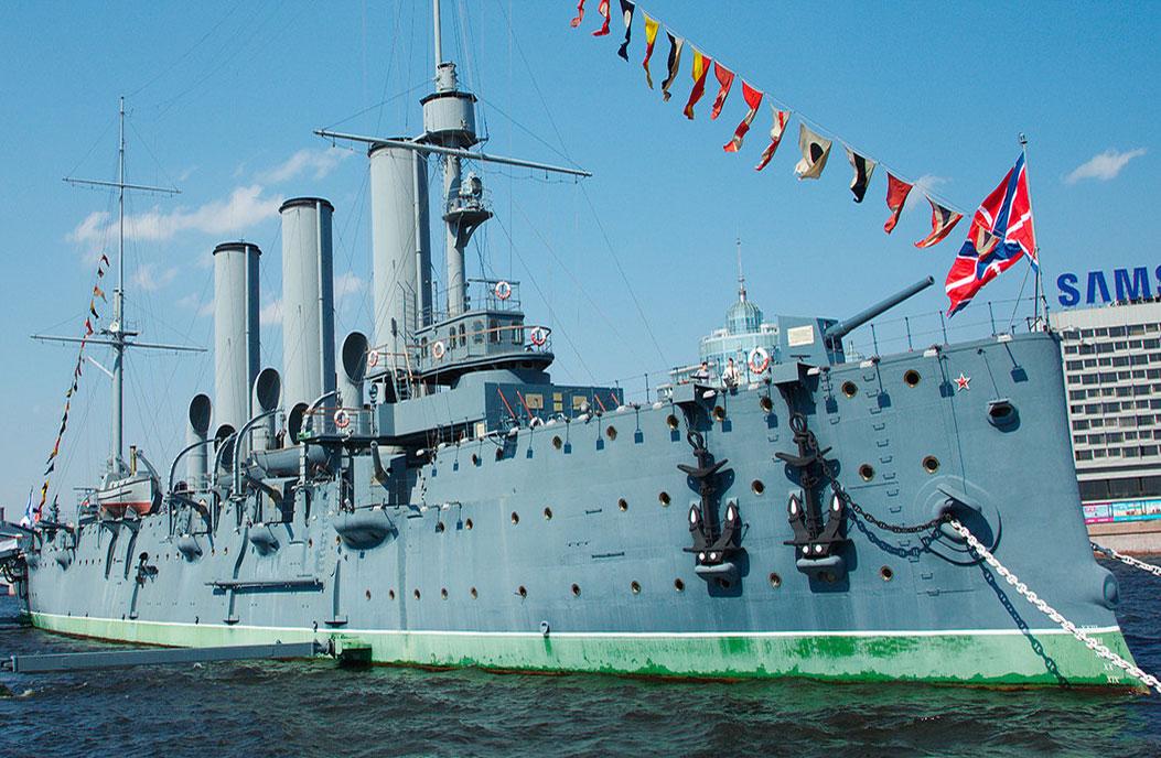 Экскурсия на крейсер «Аврора»