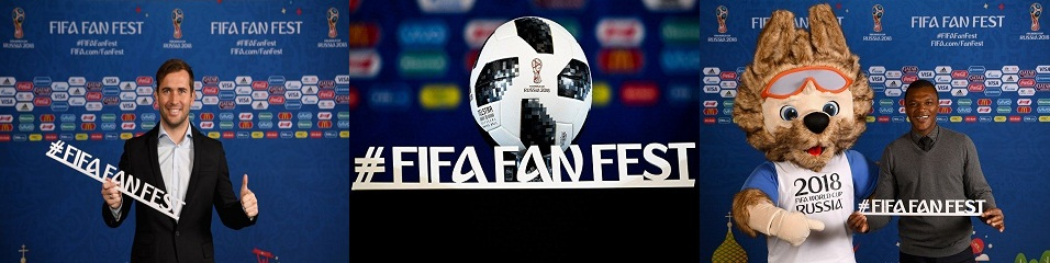Football and not just for the Festival fans FIFA Fan Fest!