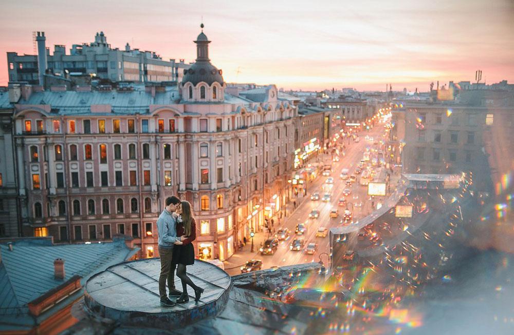 Прогулки по крышам Петербурга