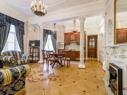 New apartment in the center of St. Petersburg from hth24 Apartments