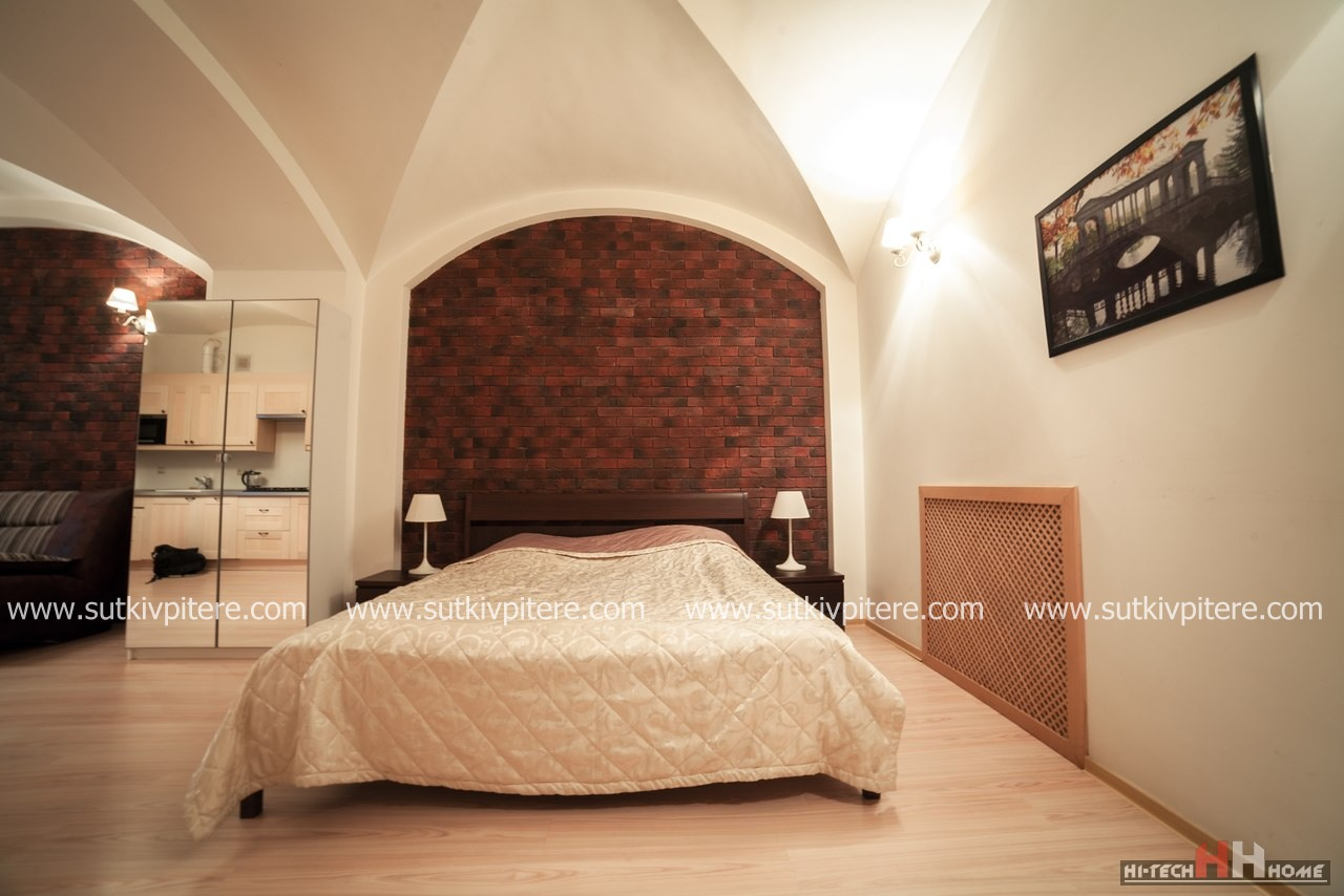 One-roomed VIP — apatments for by day rent at Pushkinskaya 9