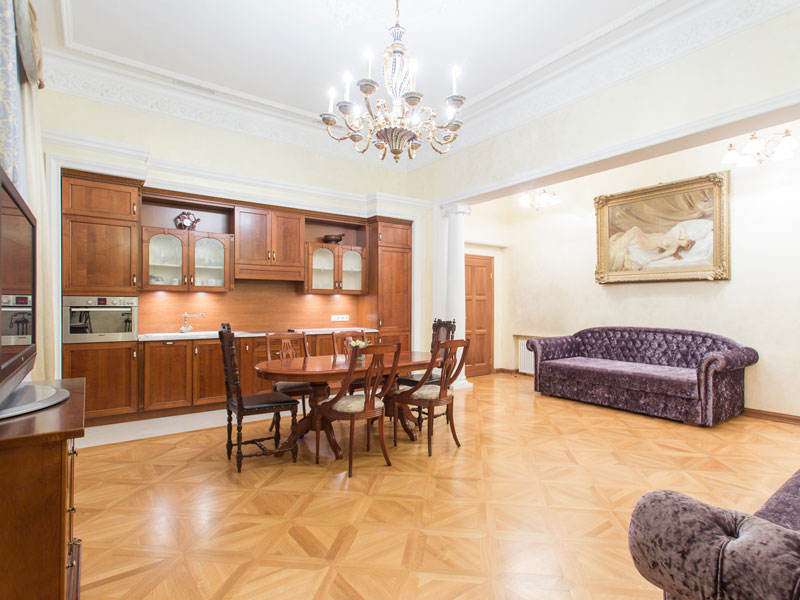 Смотреть 3d тур - Elite wedding Apartment in St. Petersburg on the Promenade des Anglais