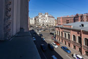 Two-room apartments for rent in the center of St. Petersburg on Petrograd Side