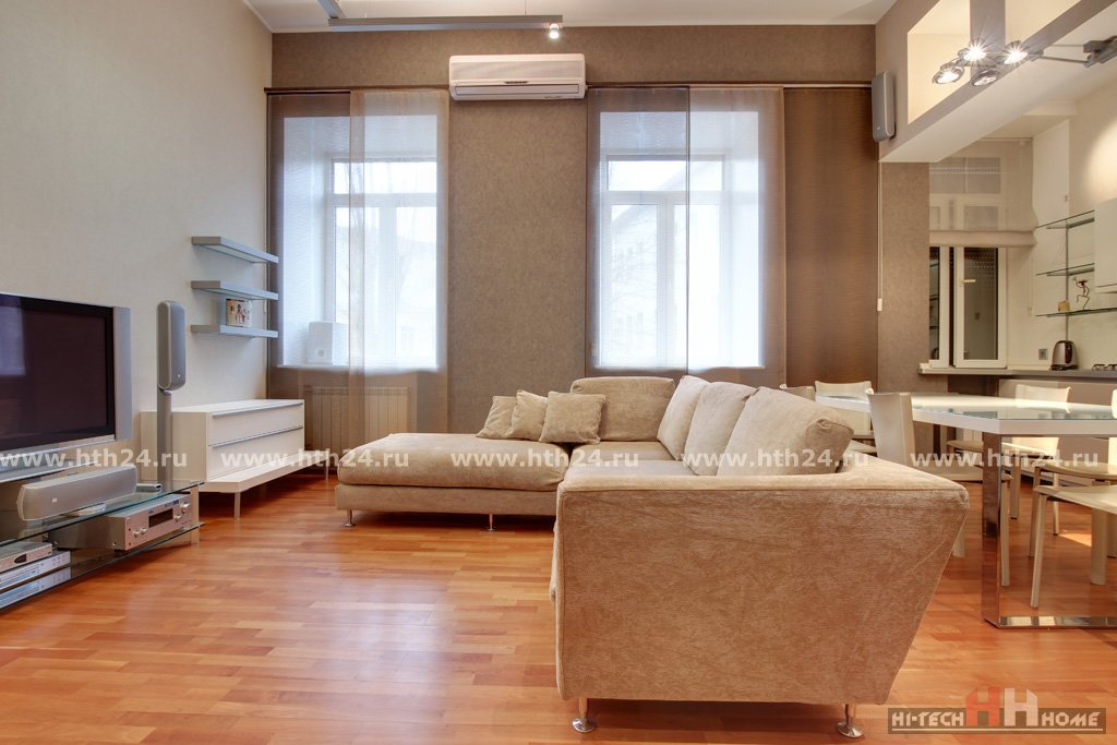 Elite Two Level Apartment for Rent in Saint-Petersburg at Fontanka 50A