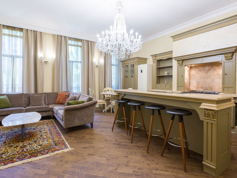 Смотреть 3d тур - Apartments for rent in St. Petersburg on Liteiny 46