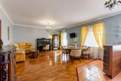 Two bedroom apartment for rent overlooking the roofs of St. Petersburg