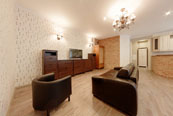 Spacious two bedroom apartment for rent in St. Petersburg at Vladimirsky 15