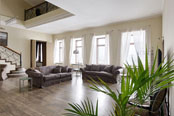 Exclusive two-level VIP apartments for rent on Admiralteyskaya emb. 10