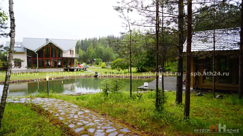 Cottage for rent by day in Tsvelodubovo nearby St. Petersburg